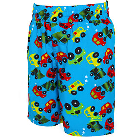 Zoggs Automania Water Shorts Kids Turquoise/Multi